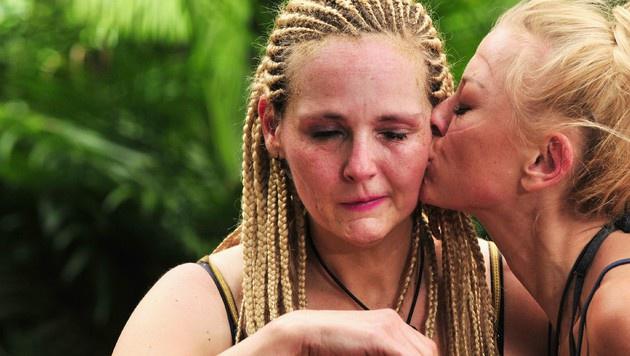 Ein Küsschen für Helena von Jenny (Bild: RTL)