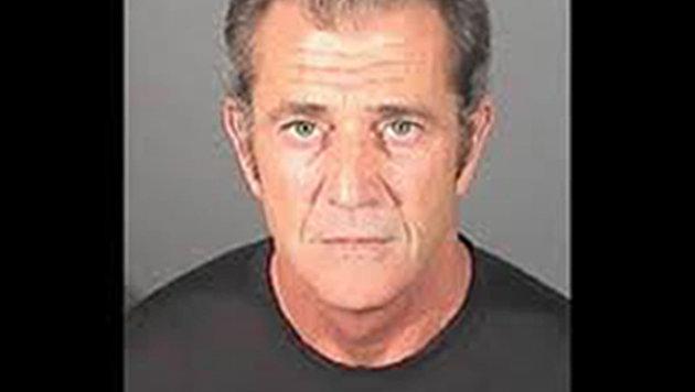 """Mel Gibson hat seine """"Mugshots"""" verdient: Trunkenheit und Gewalt waren seine Begleiter. (Bild: Viennareport)"""