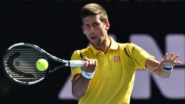 Djokovic, Federer und Williams locker weiter (Bild: AFP)