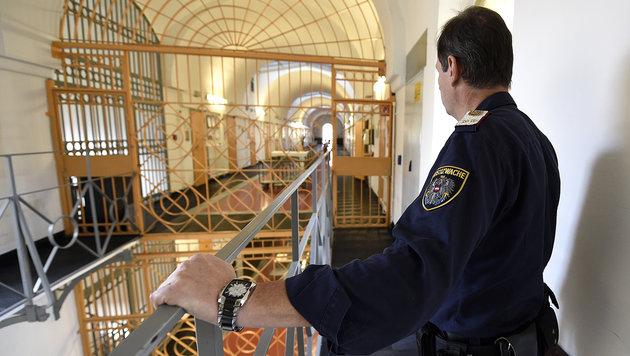"""Justizbeamte schlagen Alarm: """"Wir sind Freiwild"""" (Bild: APA/HELMUT FOHRINGER)"""