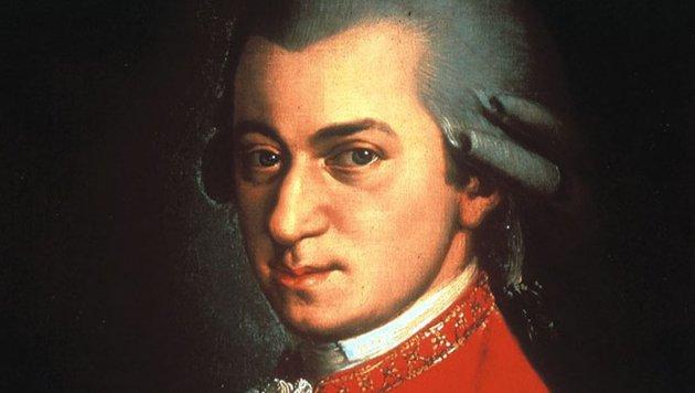 Mozart-Denkmal der ganz besonderen Art (Bild: Archiv Krone)