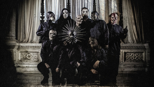 """Slipknot: """"Wir sind wie ein Football-Team"""" (Bild: Warner Music)"""