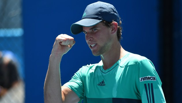 Thiem erreicht zweite Runde, Paszek out (Bild: APA/AFP/WILLIAM WEST)