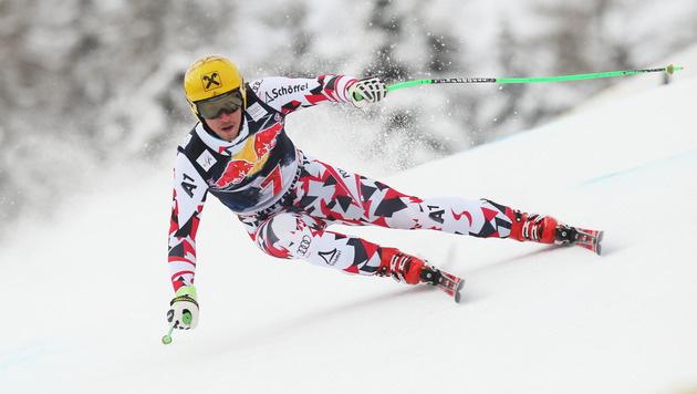 Max Franz auf der Streif gestürzt: Saison vorbei! (Bild: GEPA)
