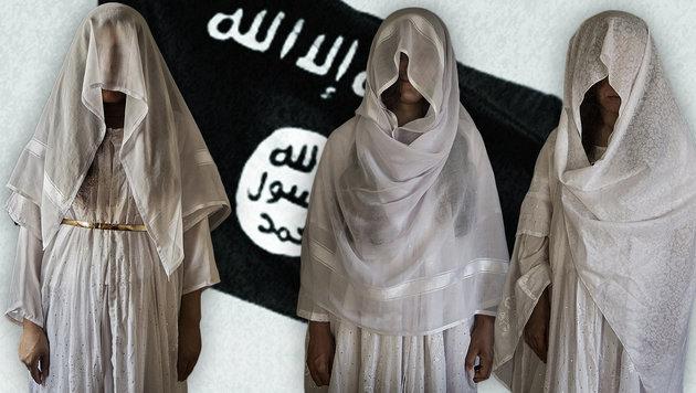 Was mit den Babys der IS-Sexsklavinnen passiert (Bild: twitter.com, Seivan Salim/Metrography)