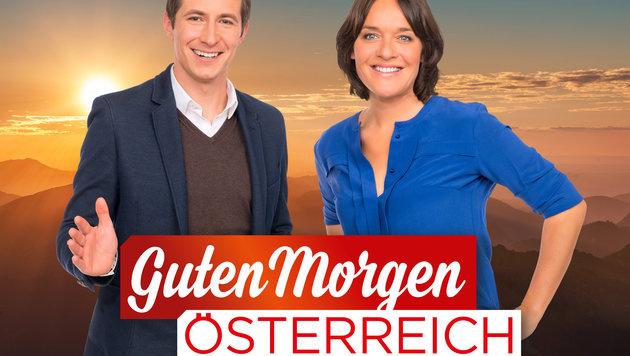 Lukas Schweighofer und Eva Pölzl (Bild: ORF)