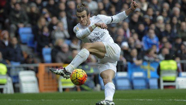 Real mehrere Wochen ohne Starspieler Gareth Bale (Bild: APA/AFP/PEDRO ARMESTRE)
