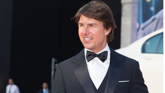 """Tom Cruise bei der """"Mission: Impossible - Rogue Nation""""-Premiere vor der Wiener Staatsoper. (Bild: Viennareport)"""