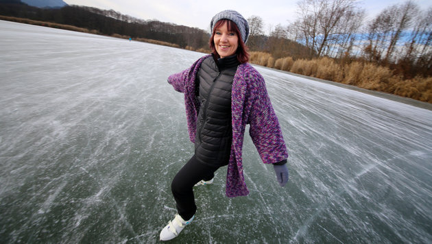 "Wegen""Eiszeit"": Schlittschuhe sind ausverkauft! (Bild: Evelyn Hronek)"