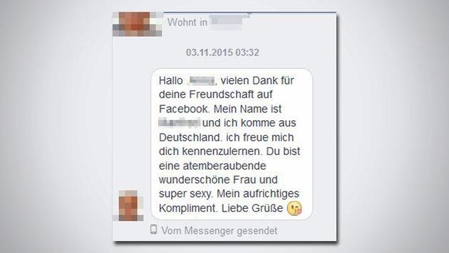 """""""Die 6 nervigsten Facebook-Flirter (Bild: Facebook)"""""""
