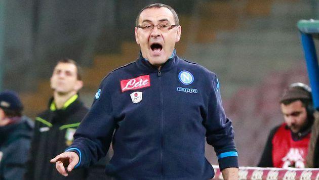 Napoli-Trainer Maurizio Sarri (Bild: APA/AFP/CARLO HERMANN)