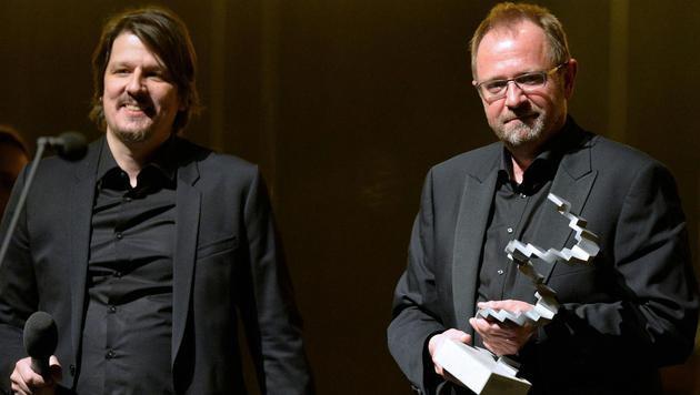 Bestes Szenenbild: Johannes Salat und Hubert Klausner (Bild: APA/HERBERT NEUBAUER)