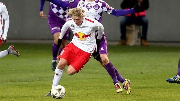 Für Schlager war 2015 ein sehr gutes Jahr: Mit Liefering in Liga und Youth League und dem U-19-Team. (Bild: Helmut Kuess)