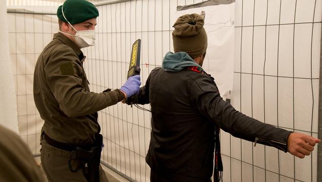 Flüchtlingsstrom: Nun kommt tägliche Obergrenze (Bild: Polizei)