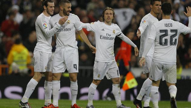 Real vor Barcelona umsatzstärkster Klub der Welt (Bild: AP)