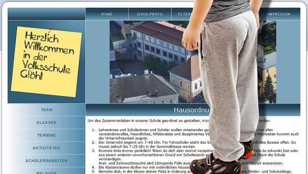 Schuldirektorin sagt Jogginghosen den Kampf an (Bild: thinkstockphotos.de, Volksschule Gföhl)