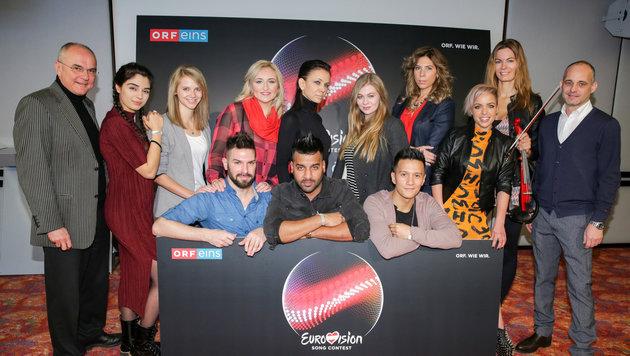 Wer fährt 2016 für Österreich zum Song Contest? (Bild: ORF/Milenko Badzic)