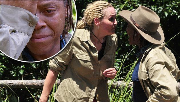 Helena rastet bei Dschungelprüfung völlig aus (Bild: RTL)