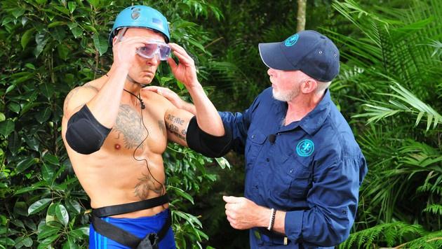 Thorsten muss zur Dschungelprüfung antreten. (Bild: RTL)