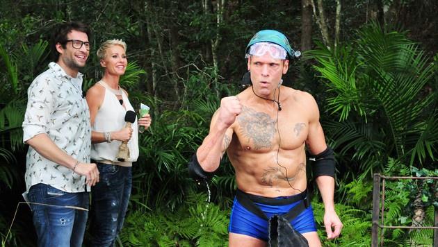 Thorsten ist stolz auf seinen Erfolg bei der Dschungelprüfung. (Bild: RTL)