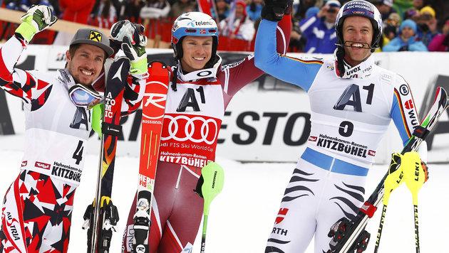 """Hirscher: """"Henrik ist Favorit auf Gesamtweltcup"""" (Bild: AP)"""