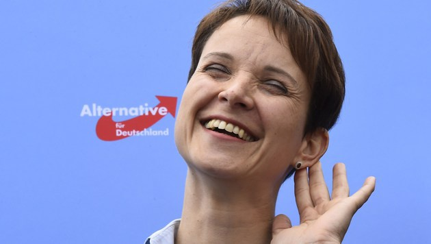 AfD-Chefin Frauke Petry (Bild: AFP)