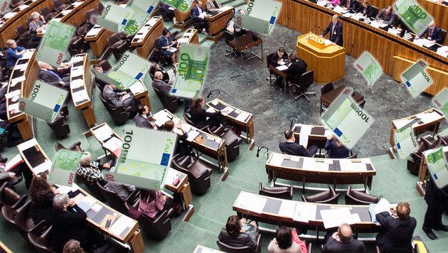 Üppige Förderung: So viel kosten uns die Parteien (Bild: APA/GEORG HOCHMUTH, thinkstockphotos.de)