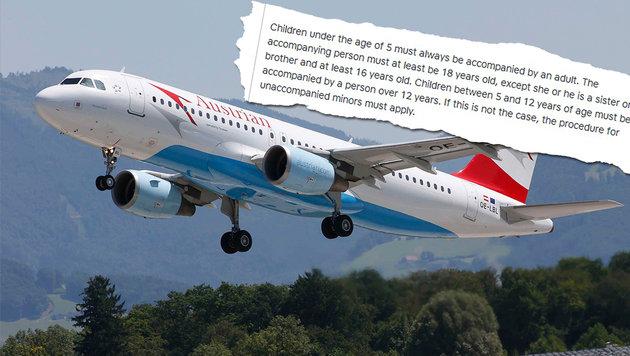 AUA: Kinder dürfen allein in die USA fliegen (Bild: Markus Tschepp, Austrian Airlines)