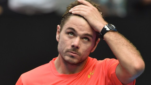 Australian Open: Wawrinka im Achtelfinale out (Bild: AFP)