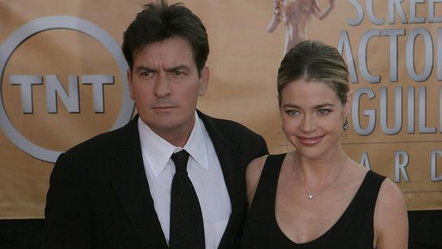 Charlie Sheen und Ex-Frau Denise Richards (Bild: Viennareport)