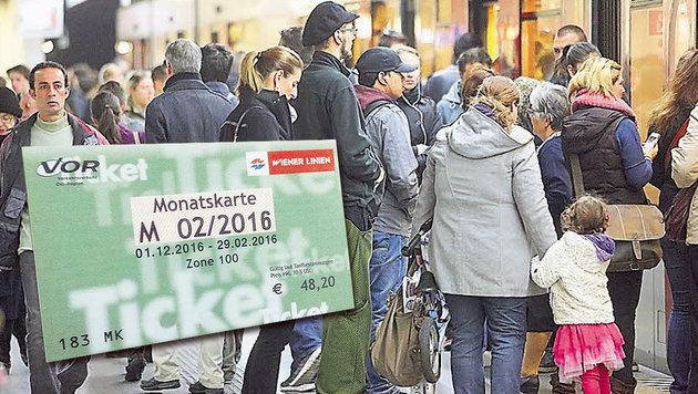 Flüchtlinge: Streit um Gratis-Öffi-Tickets in Wien (Bild: Martin Jöchl, Wiener Linien)