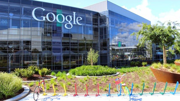 Das Google-Hauptquartier in Mountain View. (Bild: Google)