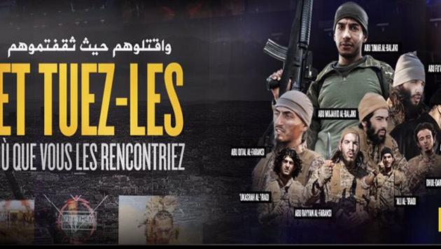 IS-Datenleck: Spur zu Pariser Attentätern (Bild: Twitter.com)