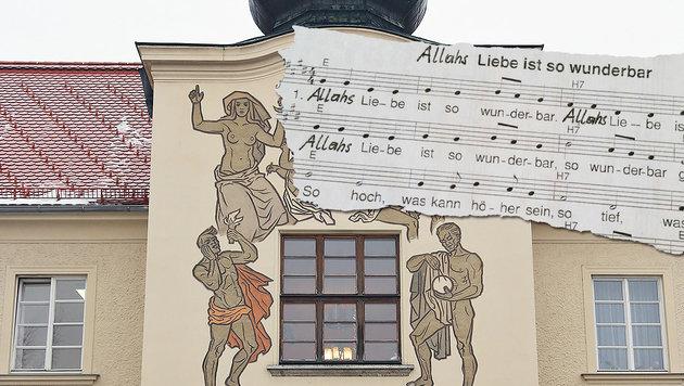 """Lehrerin ersetzt in Liedtext Gott durch Allah (Bild: Gerhard Wenzel, """"Krone"""")"""