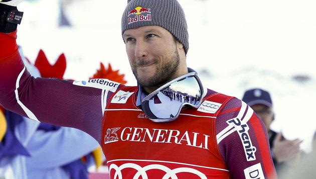 Schock: Ski-Superstar Svindal droht Saisonende! (Bild: AP)