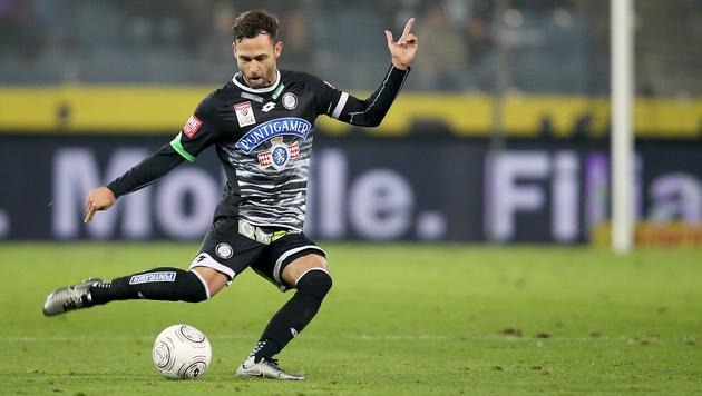 Sturm-Kapitän Michael Madl vor Wechsel zu Fulham (Bild: GEPA)