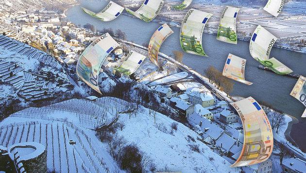 In Österreich ist die Wasserqualität der Donau gut. (Bild: Kronen Zeitung, thinkstockphotos.de)