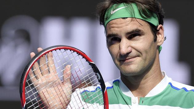 Federer und Djokovic spazieren ins Halbfinale (Bild: AP)