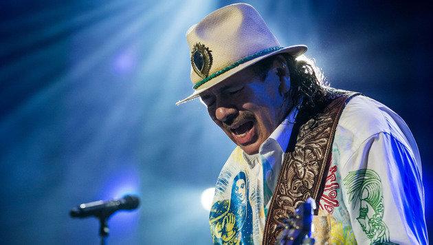 """""""Krone"""" holt Gitarren-Virtuose Santana nach Wien (Bild: Erik Kabik)"""