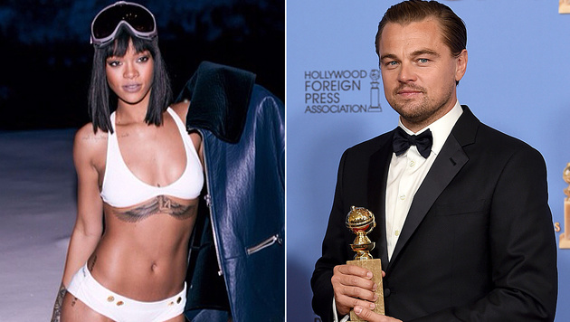 Die Liebesgerüchte um Rihanna und Leonardo DiCaprio wollen nicht abreißen. (Bild: Viennareport, Jordan Strauss/Invision/AP)