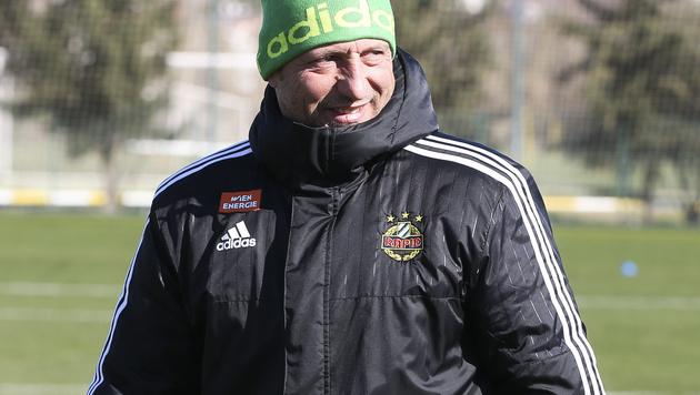 Rapid: Vier neue Juwelen für Trainer Barisic (Bild: GEPA)