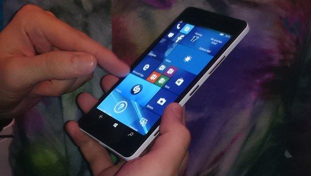 Totgeburt Windows 10 Mobile: Lumia vor dem Ende? (Bild: Dominik Erlinger)