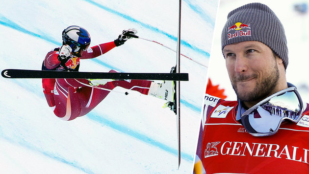 Wird Aksel Lund Svindal nie wieder ganz fit? (Bild: APA/AFP/JOE KLAMAR, ASSOCIATED PRESS)