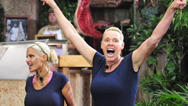 Brigitte freut sich über ihren Triumph. (Bild: RTL)