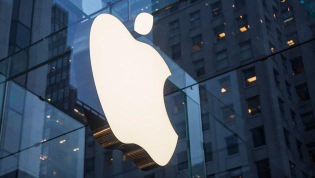 Apple bleibt vor Google wertvollste Marke der Welt (Bild: APA/AFP/GETTY IMAGES/Andrew Burton)