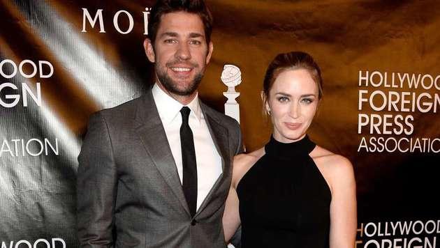 John Krasinksi und Emily Blunt werden erneut Eltern. (Bild: AFP)