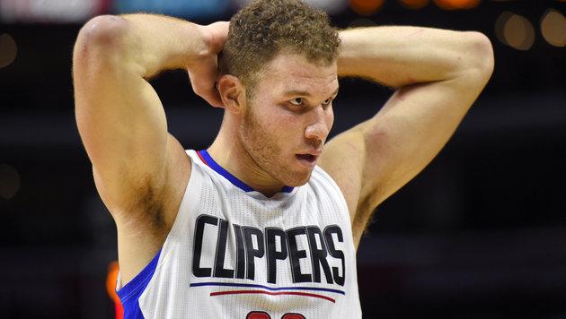 NBA-Star Griffin prügelt Zeugwart nieder (Bild: AP)