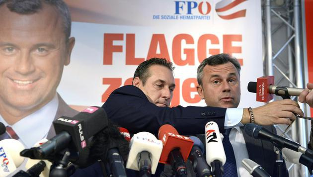 Fix: FPÖ schickt Hofer ins Rennen um die Hofburg (Bild: APA/HANS KLAUS TECHT)