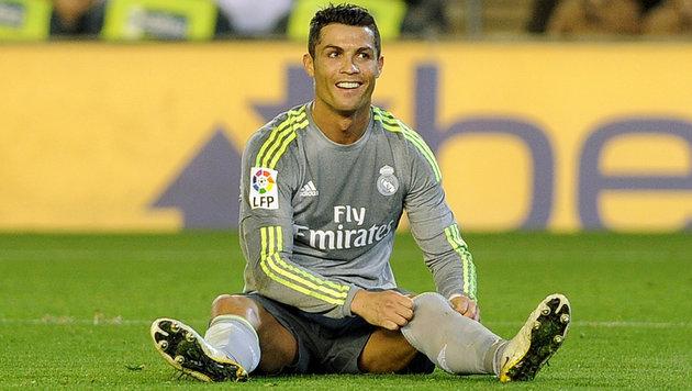 Real-Fans haben die Nase voll von Ronaldo & Bale! (Bild: APA/AFP/CRISTINA QUICLER)