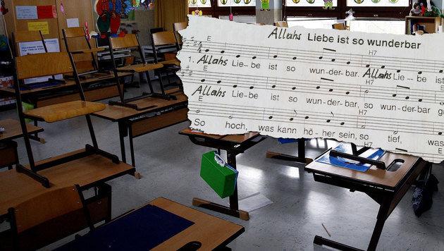 """""""Allah""""-Lied regt katholische Kirche nicht auf (Bild: APA/HARALD SCHNEIDER (Symbolbild), """"Krone"""")"""